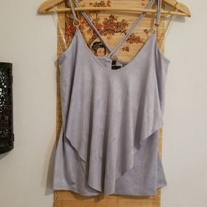 RIPE sleeveless top in pewter